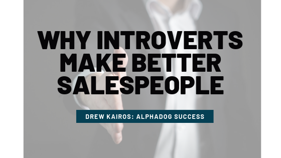 Introverts Better at Sales
