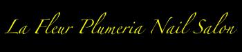 La Fleur Plumeria Nail Salon Logo