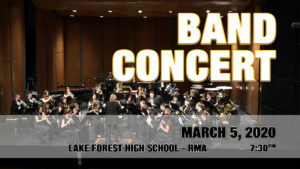 Band Concert Early Spring