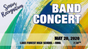 Band Concert Spring 2020