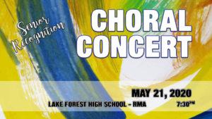 Choral Concert 2020