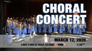 Choral Concert Early Spring 2020
