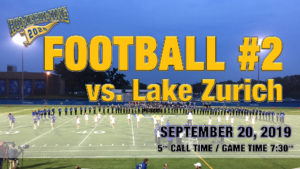 Football Game #2 vs Lake Zurich