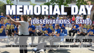 Memorial Day Observations - Lake Bluff