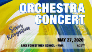 Orchestra Concert Spring 2020