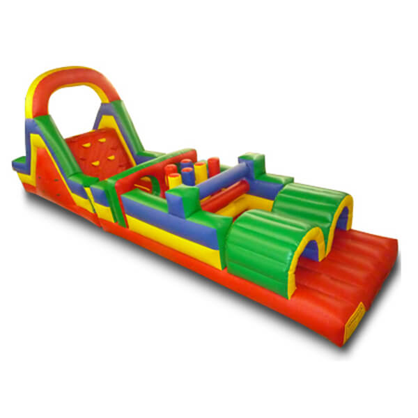 37' Obstacle Course   Inflatable for Rent   Rent-All located in Storm Lake