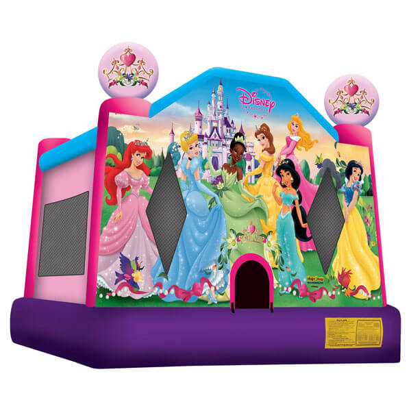 Princess Bounce House 13x13 | Inflatables for Rent | Rent-All located in Storm Lake
