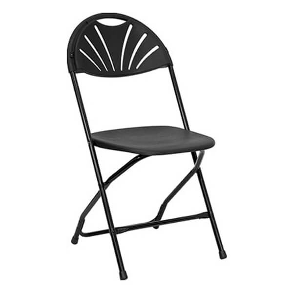Black Chair Millennium | Rent-All located in Sioux Center and Storm Lake | Chairs for Rent
