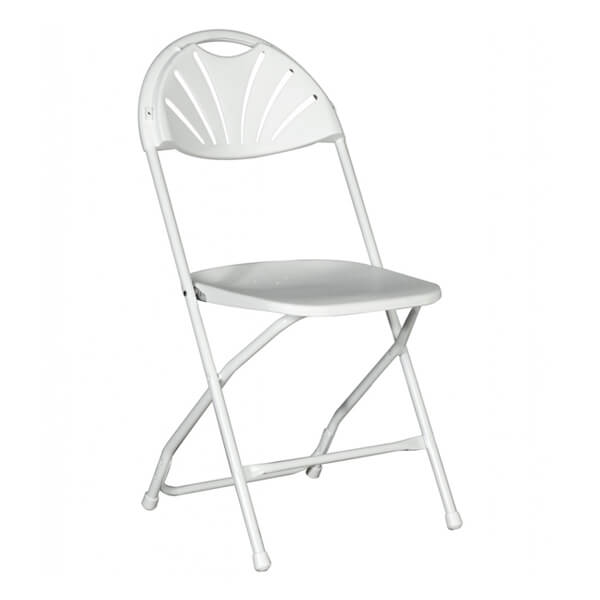 White Chair Millennium   Rent-All located in Sioux Center and Storm Lake   Chairs for Rent