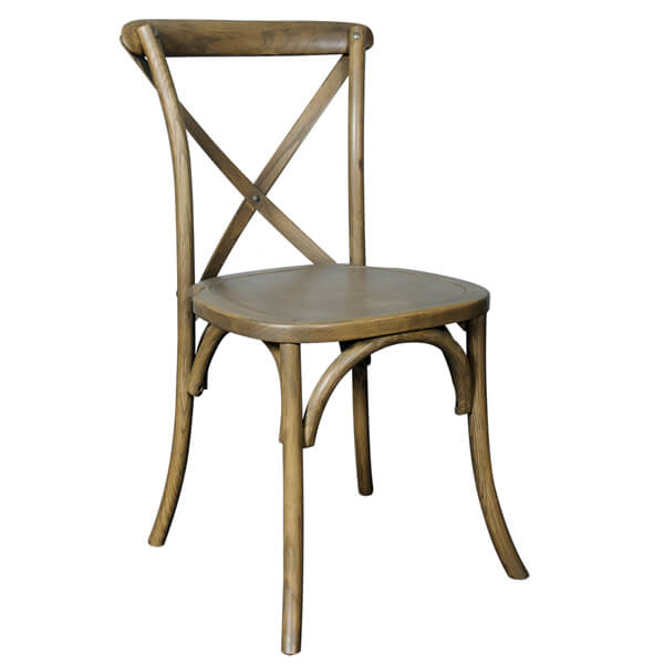 Pilgrim X-Back Wood Chair   Rent-All located in Sioux Center   Chairs for Rent