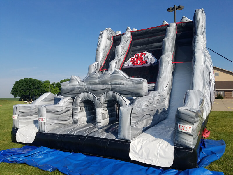 Cliff Climb & Slide | Inflatable for Rent | Rent-All located in Sioux Center