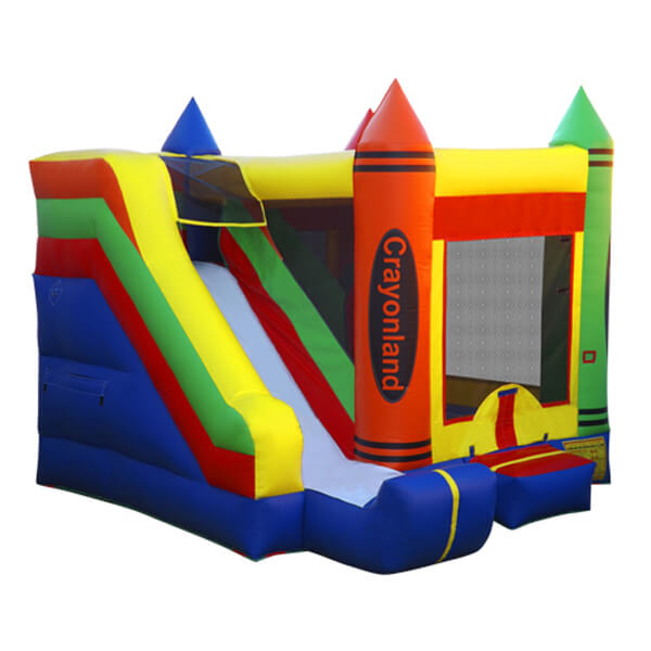 Crayonland   Inflatable for Rent   Rent-All located in Sioux Center and Storm Lake