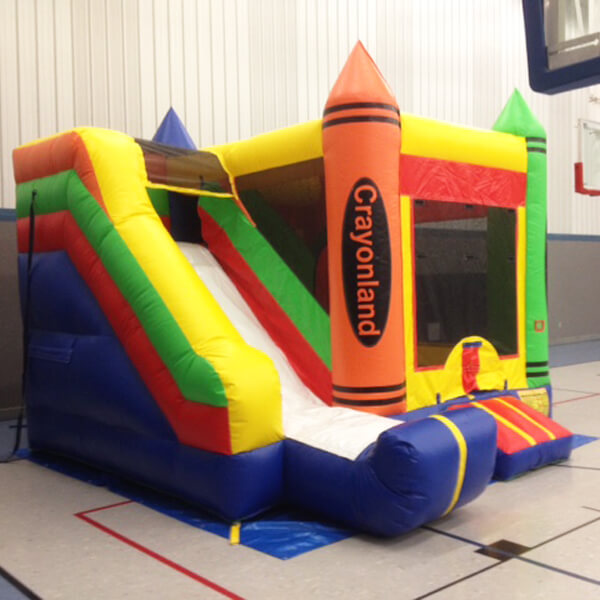 Crayonland | Inflatable for Rent | Rent-All located in Sioux Center and Storm Lake