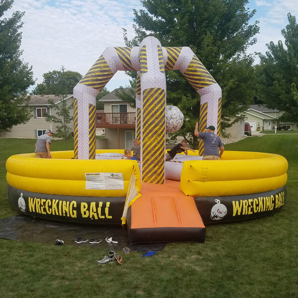 Wrecking Ball | Inflatable for Rent | Rent-All located in Sioux Center and Storm Lake