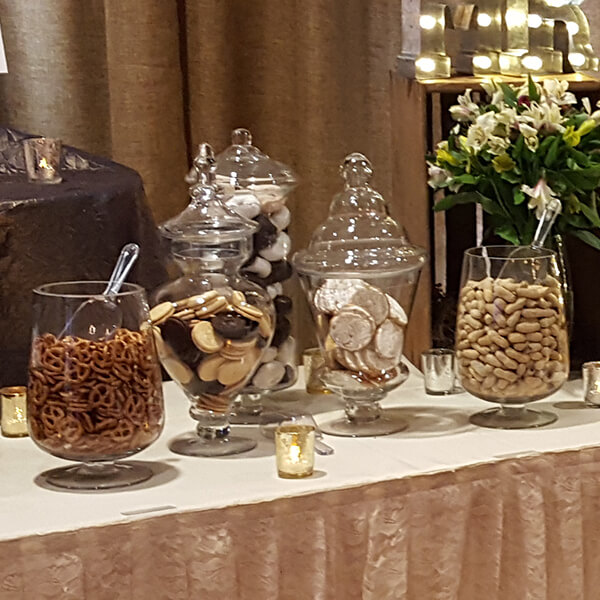 Apothecary Jar   Celebrations by Rent-All located in Sioux Center   Wedding Rental   Glass Container For Rent