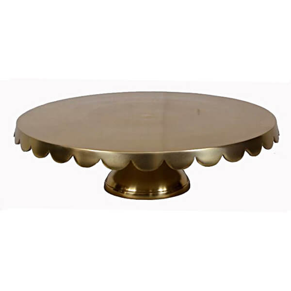 Gold Cake Stand 22"