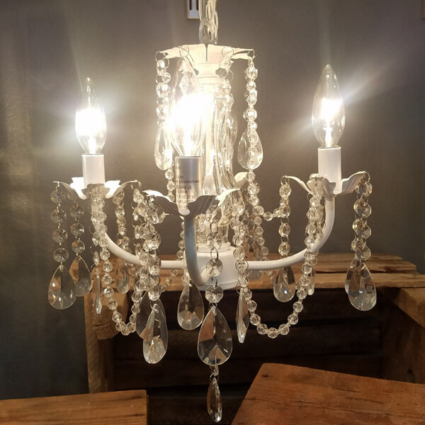 Daphne Chandelier | Celebrations by Rent-All located in Sioux Center | Wedding Decor For Rent