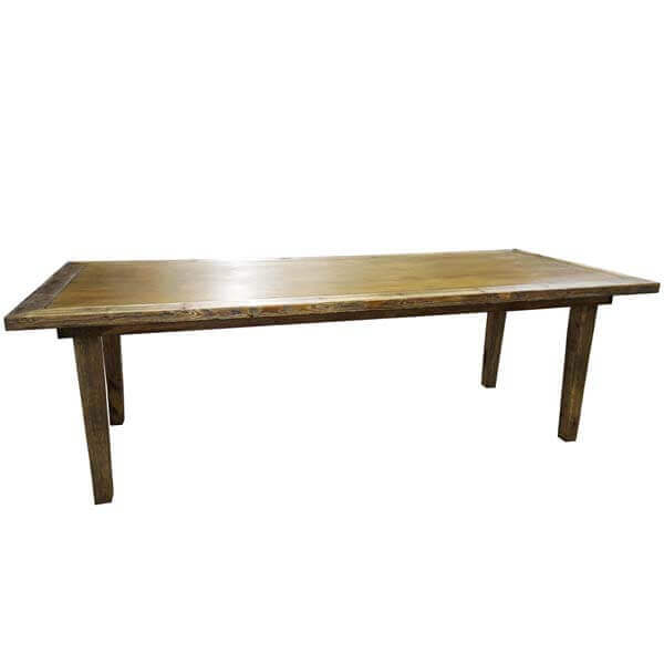 Farm Table | Celebrations by Rent-All located in Sioux Center | Wedding Rental | Wood Table For Rent