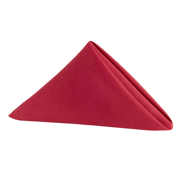 Red Napkin | Celebrations by Rent-All located in Sioux Center | Wedding Rental | Cloth Napkins For Rent