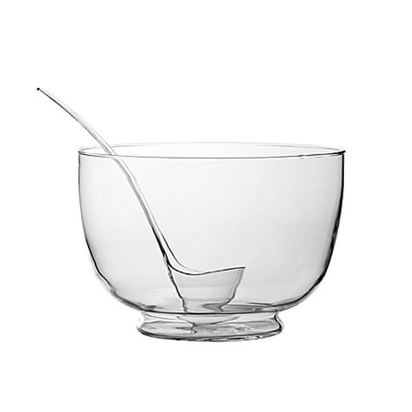 Punch Bowl Glass | Celebrations by Rent-All located in Sioux Center | Punch Bowl For Rent