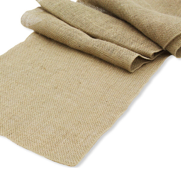 Burlap Runner   Celebrations by Rent-All located in Sioux Center   Wedding Rental   Table Runners For Rent