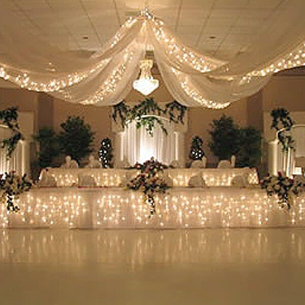 Starlight Canopy Strand   Celebrations by Rent-All located in Sioux Center   Lighting Rentals   For Rent