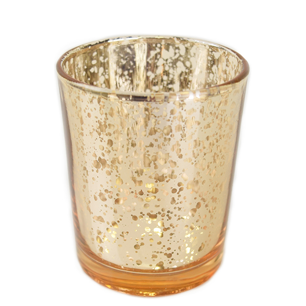 Gold Candle Votive | Celebrations by Rent-All located in Sioux Center | Wedding Rental | Candle Holders For Rent