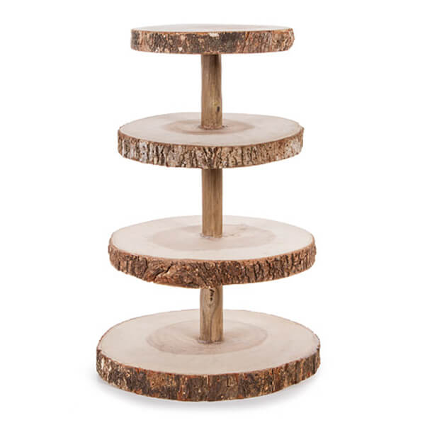 Wood 4 Tier Stand   Celebrations by Rent-All located in Sioux Center   For Rent   Serving Rentals