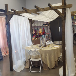 Wood Arbor   Celebrations by Rent-All located in Sioux Center   Arbor For Rent