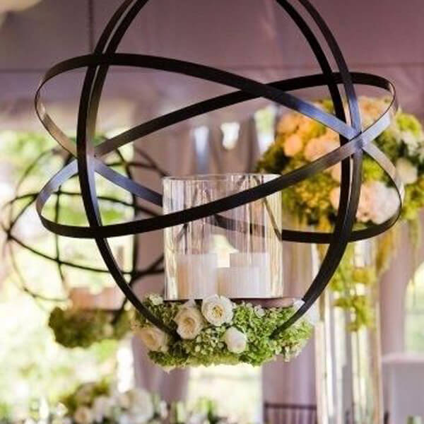 Iron Spheres | Celebrations by Rent-All located in Sioux Center | Decor For Rent