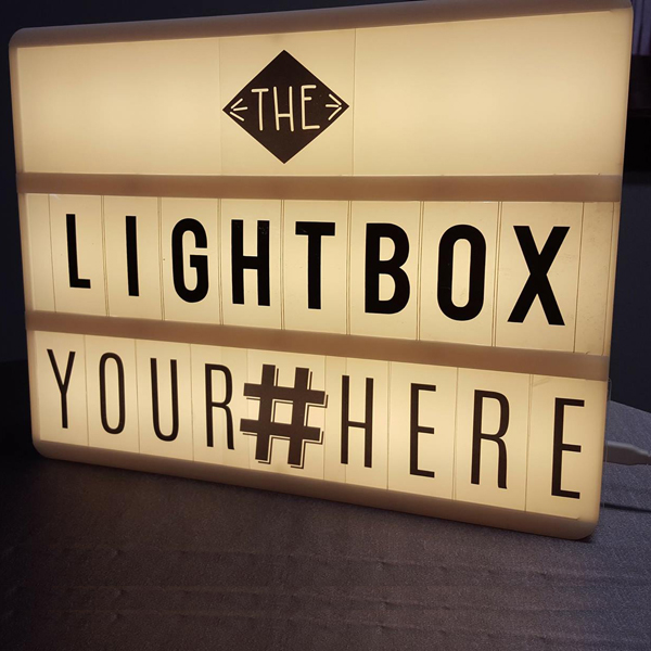Letterbox | Celebrations by Rent-All located in Sioux Center | Wedding Sign Decor For Rent