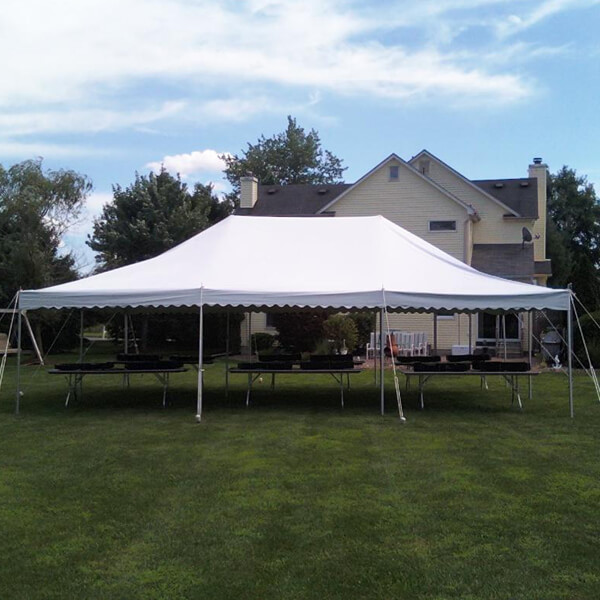 20x30 Canopy Tent | Celebrations by Rent-All located in Sioux Center and Storm Lake | Tents for Rent