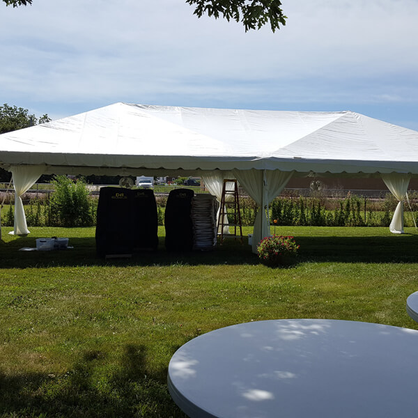 20x40 Frame Tent   Celebrations by Rent-All located in Sioux Center and Storm Lake   Tents for Rent