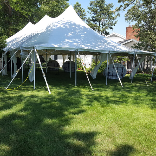 30x60 Canopy Tent | Celebrations by Rent-All located in Sioux Center and Storm Lake | Tents for Rent
