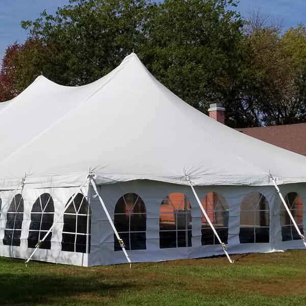 Tent Sidewalls with Windows | Celebrations by Rent-All located in Sioux Center | Tents for Rent