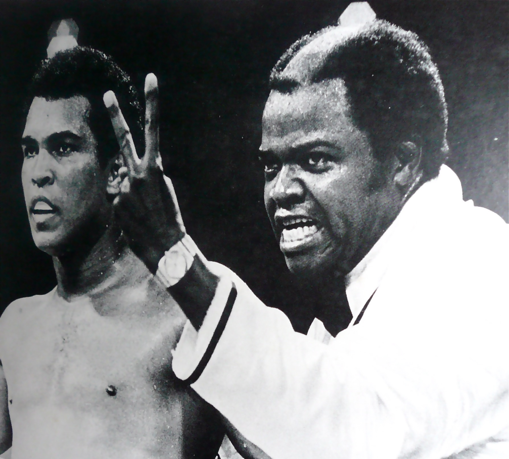 "Bundini Brown and Ali - ""Can't beat both of us!"""