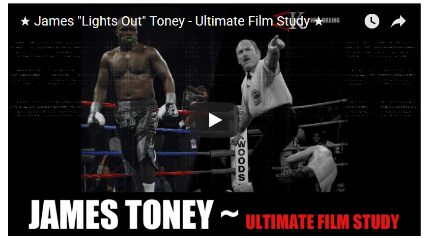 Three Must See Boxing Analysts on YouTube James Toney screen
