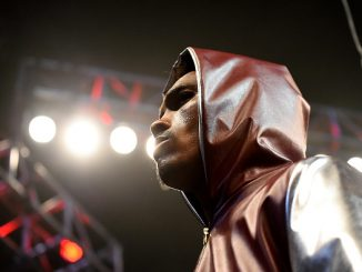 LOS ANGELES, CA - DECEMBER 10: Jermall Charlo enters the ring for the IBF Junior Middleweight Championship Bout at the Galen Center at the University of Southern California on December 10, 2016 in Los Angeles, California. (Photo by Jayne Kamin-Oncea/Getty Images)
