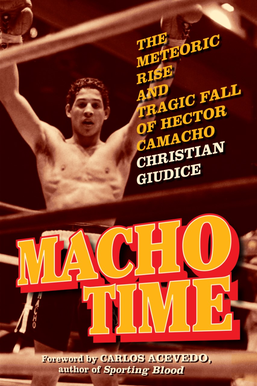 Hector Camacho book- Macho Time