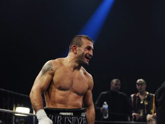 Avtandil KHURTSIDZE - 30.10.2010 - Championnat du Monde WBA des poids Moyens - Palais des Sports - Paris, (Photo: Amandine Noel / Icon Sport via Getty Images)
