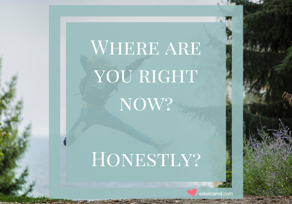 Where are you right now