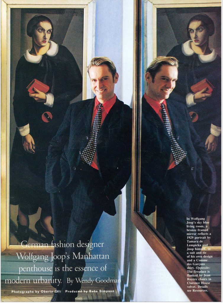 A Look Back with Wolfgang Joop NEW YORK SUTTON PLACE PENTHOUSE | Interior designer Kevin Gray | Kevin Gray Design