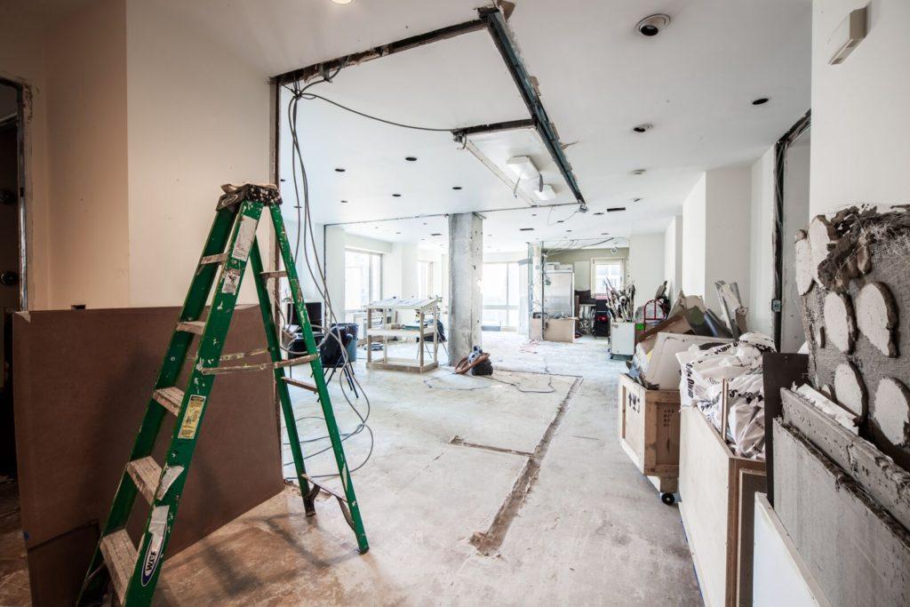 Hallway DEMO UES condo conversion | Kevin Gray Design