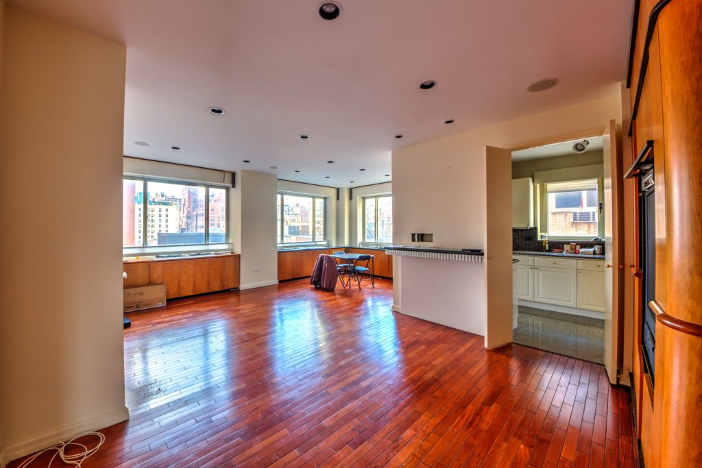 Living Room BEFORE UES condo conversion | Kevin Gray Design