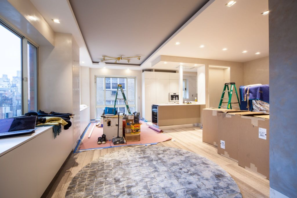 Living and Dining Room MOVEIN UES condo conversion | Kevin Gray Design
