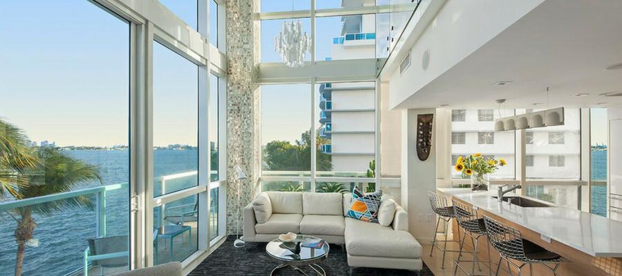 Small Place, Small Budget, Big Return: Miami Corner Duplex | Interior Designer Kevin Gray | Kevin Gray Design