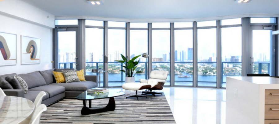 Staged by Kevin Gray Design   Luxury North Miami Beach Duplex Rented for $5,000 with Option to Buy