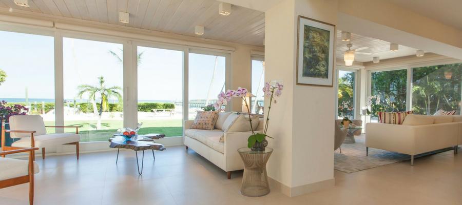 Tavernier Key Living Room | Postmodern Interior Design | Kevin Gray Design