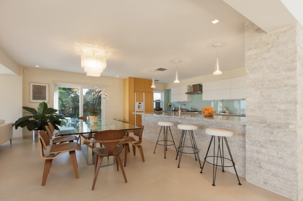 Kitchen and Dining Room Tavernier Key | Mid-Century Design | Kevin Gray Design