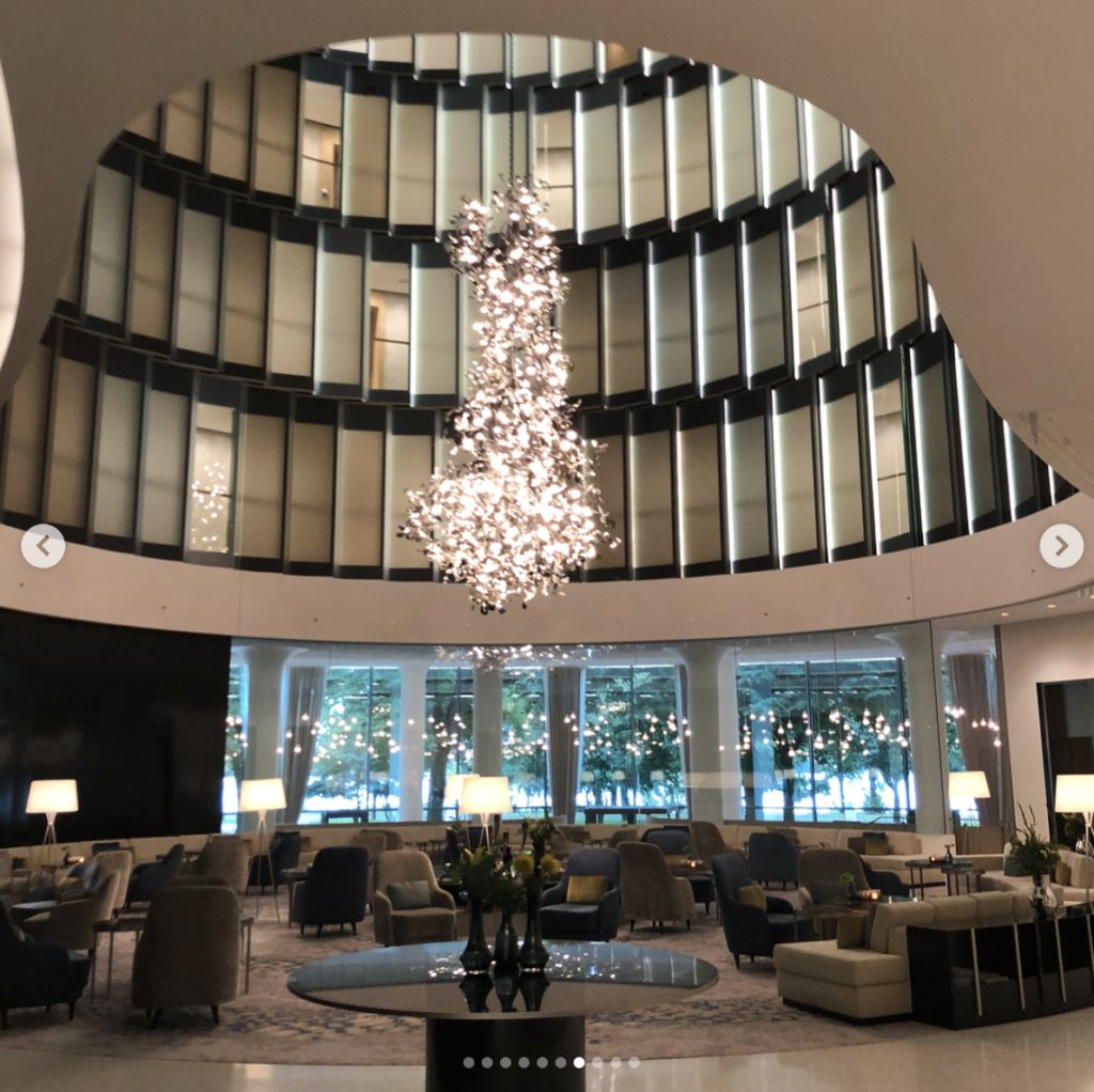 Hamburg's new Fontenay Hotel. Brilliant design and a crossover between our Palm Bay Tower in Miami and Watergate Washington D.C. Don't miss the rooftop bar and restaurants with views overlooking Hamburg's Alster lake